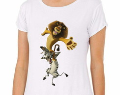 Camiseta Madagascar Alex e Marty