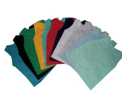 Kit camiseta regata 10 pçs MC P - 6