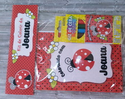 Mini Kit Colorir - Joaninha