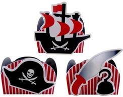 Kit Forminhas Piratas 1