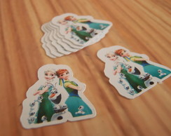 Aplique / Recorte Frozen Fever 4cm