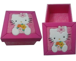Caixa Hello-Kitty Rosa