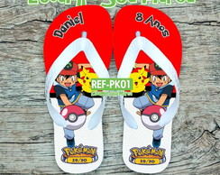 Chinelo Infantil Pokemon
