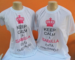 Kit Camisas Personalizada Keep Calm