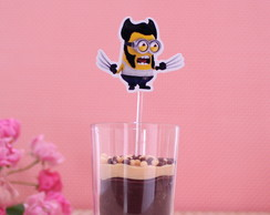 Colheres p/ doces - minions