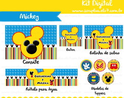 Kit Digital Turma do Mickey
