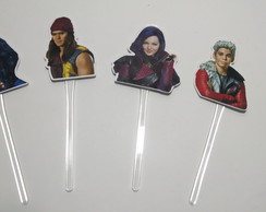 Descendentes Toppers p/doces e bolos