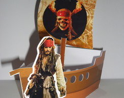 Barco Piratas do Caribe