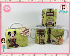 Caneca Personalizada - Safari do Mickey