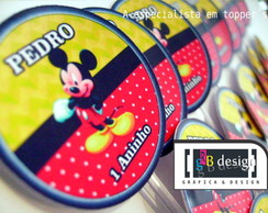 90 Toppers do Mickey Mouse