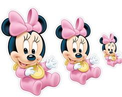 Kit Adesivo Minnie Baby Elo7