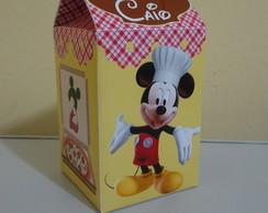 Caixa Milk Pizzaria do Mickey