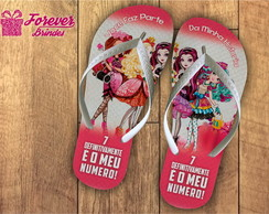 CHINELO INFANTIL - MONSTER HIGH