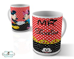Canecas Mr Mickey & Mrs Minnie