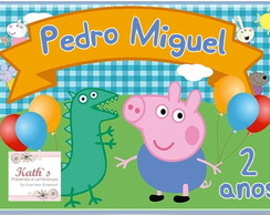 Papel Arroz GEORGE PIG