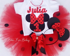 Kit Festa Minnie Vermelha JULIA