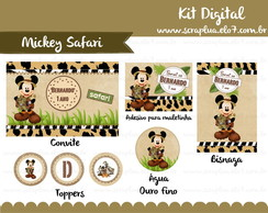 Kit Digital Mickey Safari