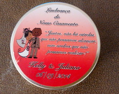 Latinhas Mint to be Personalizada