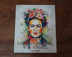 Placa Frida Kahlo