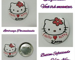 Hello Kitty boton personalizado