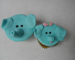 cupcake decorado - bichinhos
