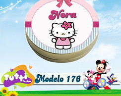LATINHA HELLO KITTY - MODELO 176