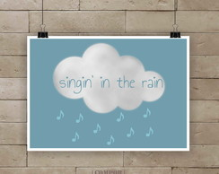 Poster The rain A4