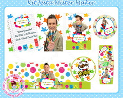 Kit festa digital Mister Maker