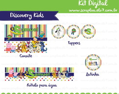 Kit Digital Discovery Kids