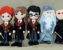 Bonecos Harry Potter - 5 personagens