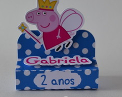 Porta chocolate duplo 3D Peppa