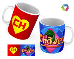 Caneca do Chaves e chapolin