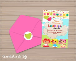 Convite simples Lalaloopsy