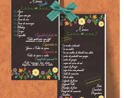Menu Digital Black