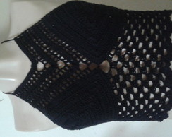 Top/ cropped croche