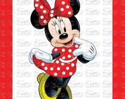 Placa - Festa Minnie