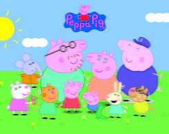 Painéis Peppa Pig