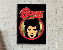 Quadro David Bowie pop art