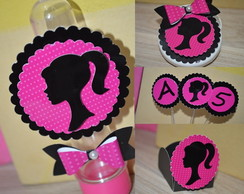 Kit 190 personalizados - Barbie