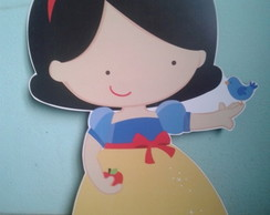 Display de Chão Branca de neve cute