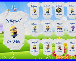 Kit Mêsversario Minions Body