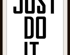Poster Just do it