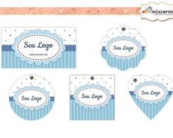 Kit Tags - Etiquetas Com Design Mod144