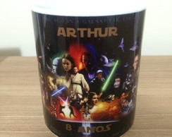 Caneca de Porcelana - Star Wars