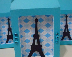 Caixa Milk Paris - Azul Tiffany