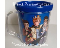 Caneca acrílica - EVER AFTER HIGH AZUL01