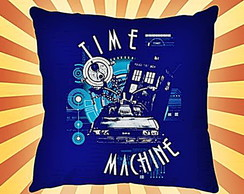 ALMOFADA QUADRADA-DR.WHO- TIME MACHINE