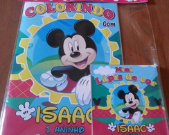 Kit Colorir Personalizado Mickey