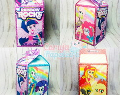 Caixa Milk Equestria Girls