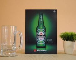 Quadro heineken long neck